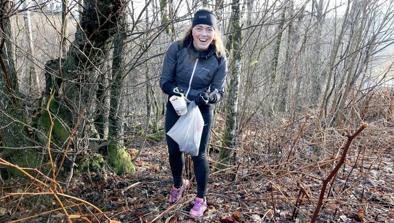 Plogging has reached Norway, © Øyvor Bakke, Courtesy of NRK