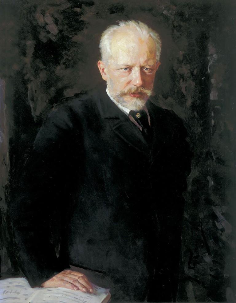 Tchaikovsky, portrait by N. Kuznetsov