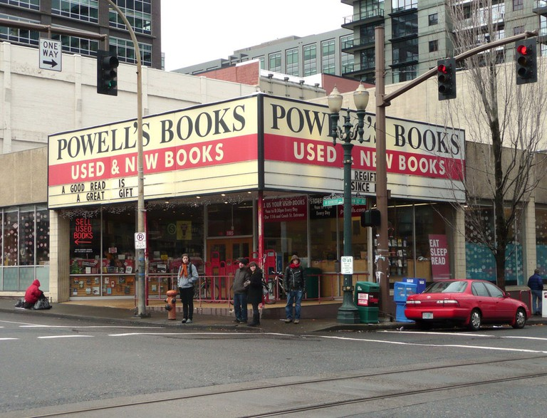 Powell's City of Books is the largest independent bookstore in the world