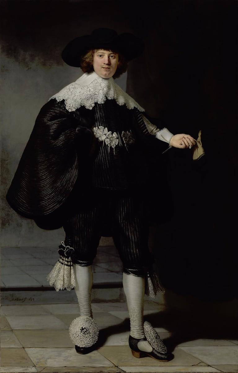 Rembrandt van Rijn, Portrait of Marten Soolmans, 1634