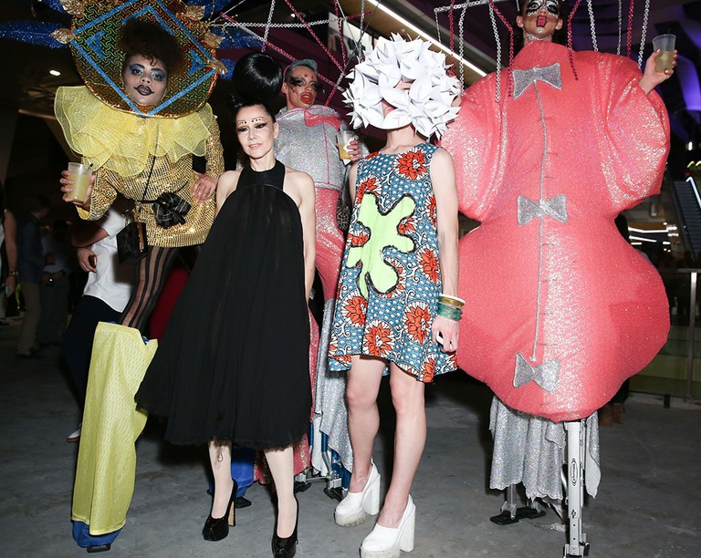 Susanne Bartsch and friends