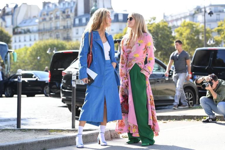Street Style, Spring Summer 2018, PFW | © REX/Shutterstock