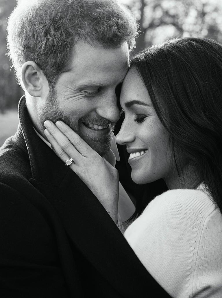 Prince Harry and Meghan Markle official engagement portraits, Windsor, United Kingdom - 21 Dec 2017