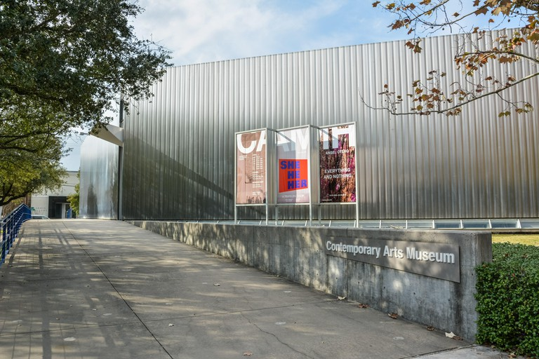 Contemporary Arts Museum buidling in Houston, Texas