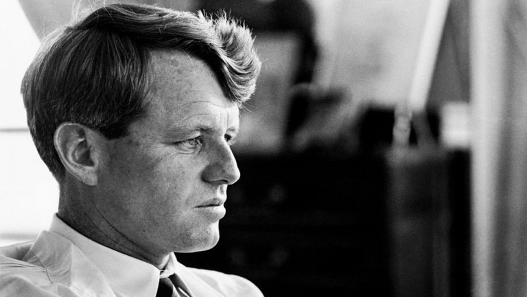 A still of Robert F. Kennedy from Bobby Kennedy for President