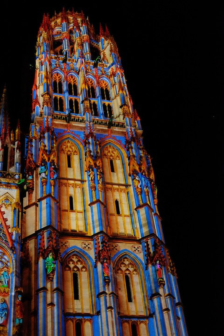 Rouen Cathedral of Light