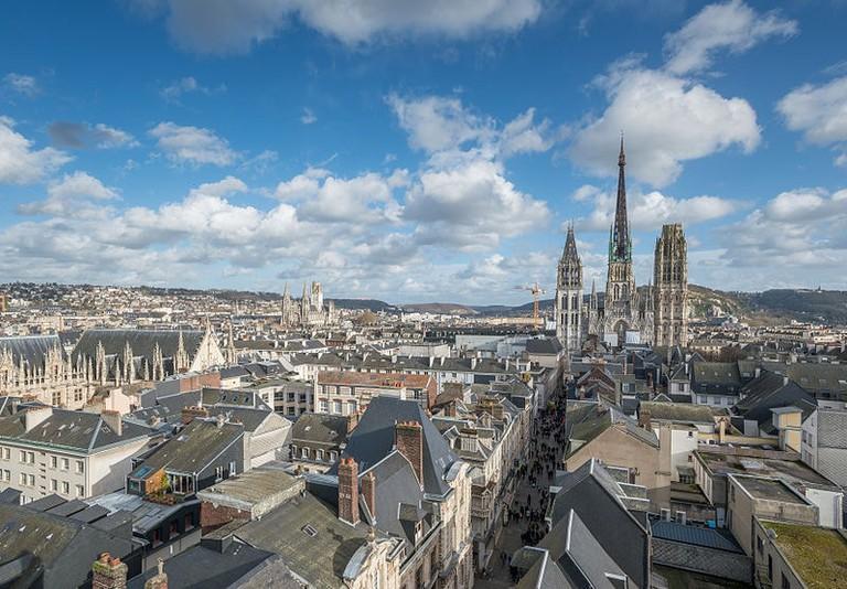 Rouen Skyline