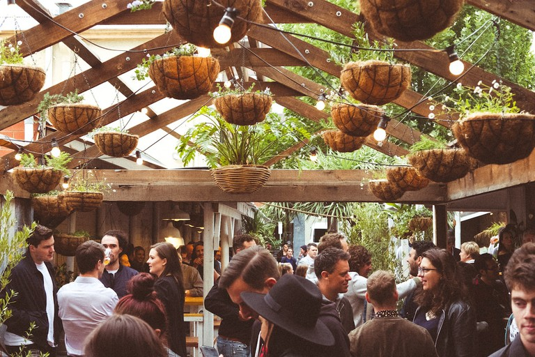 Roxie's beer garden, Adelaide