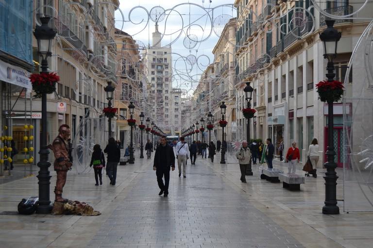 Calle Marques de Larios, Málaga