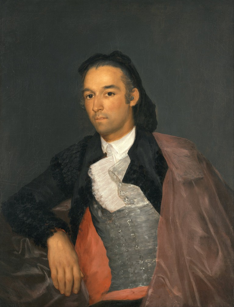 Portrait of Pedro Romero by Francisco Goya
