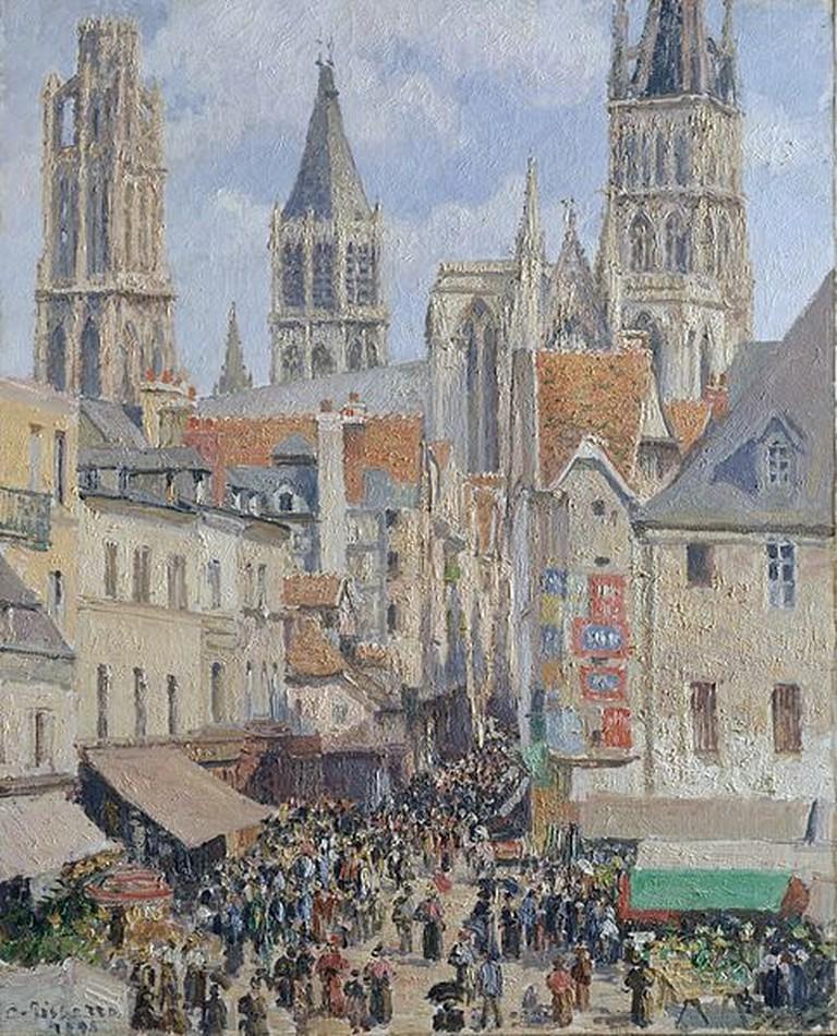 Rue de l'Épicerie Rouen Pissarro