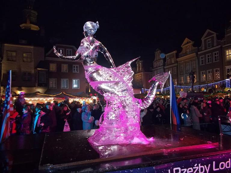 Ice Festival, Poznań | © Koefbac / WikiCommons