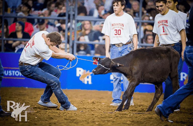 2018 Calf Scramble | Houston Rodeo