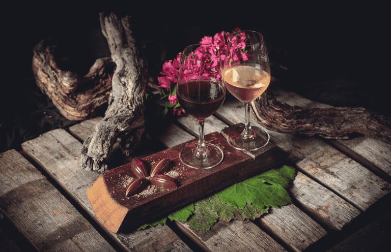 Wine tasting at Bodegas Monje