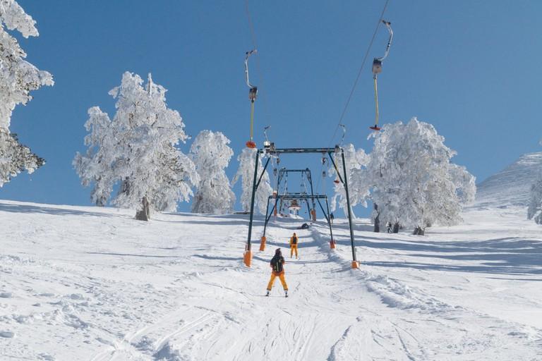 Vasilitsa Ski Resort-Greece