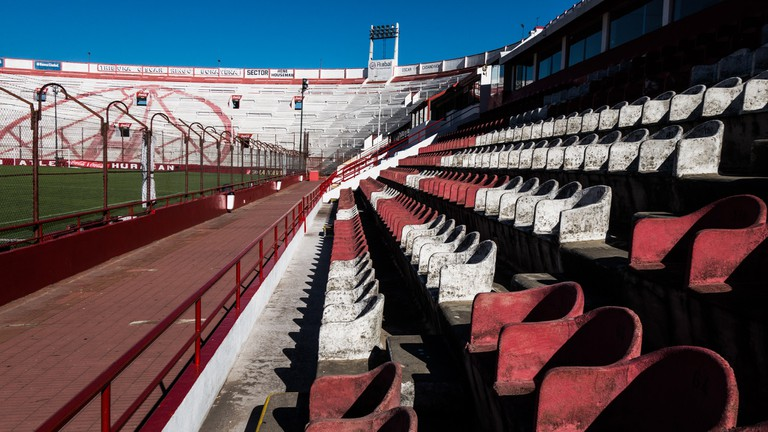 The Huracan football stadium in Buenos Aires