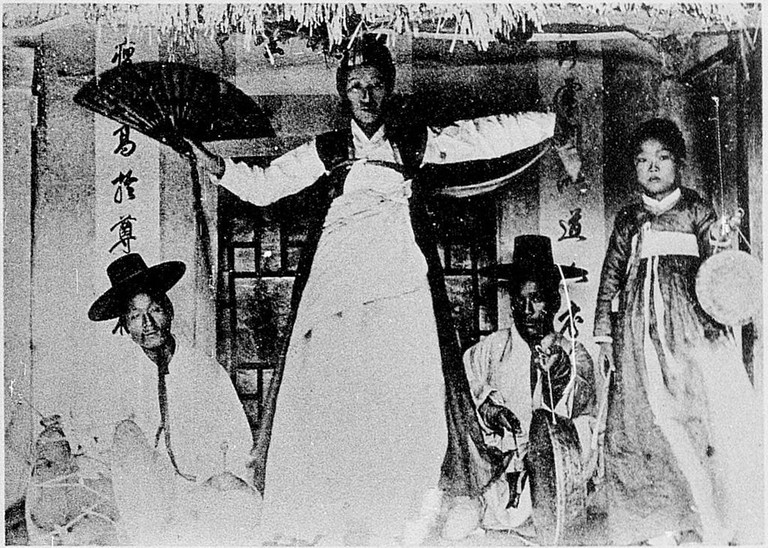 In Korea, shamans have long been thought to be able to predict the future by communicating with spirits.