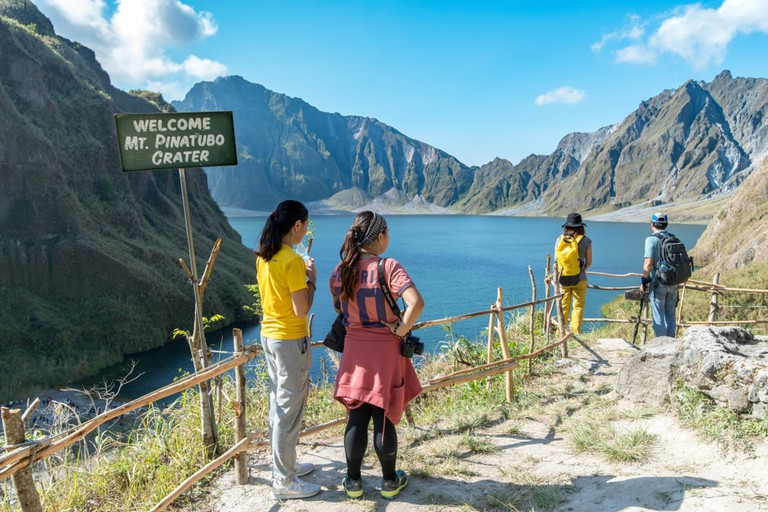 Mt. Pinatubo Crater lake, Capas, Philippines