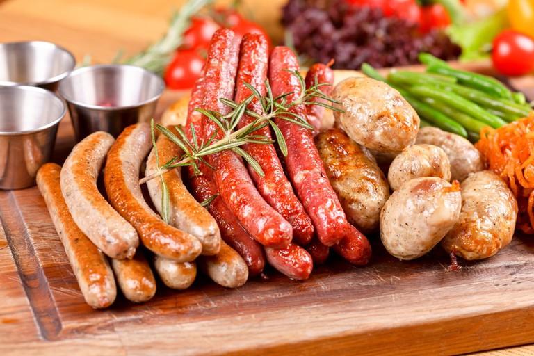 German Sausages | © vsl/Shutterstock