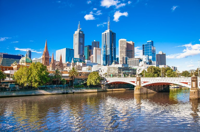 Melbourne skyline looking towards Flinders Street Station, Australia | © Aleksandar Todorovic/Shutterstock