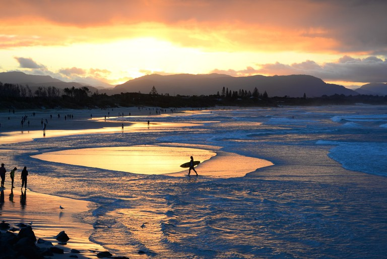Stop for a surf in Byron Bay