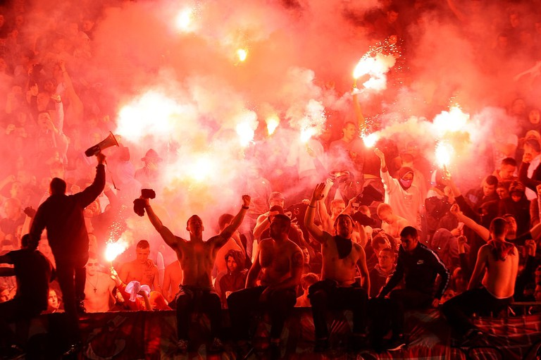 Serbian football has become better known for fan violence in recent years