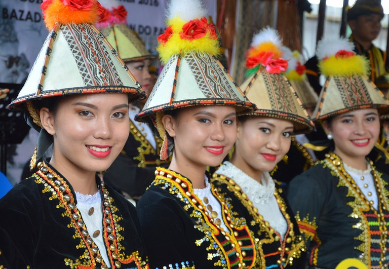 Kadazan ladies from Papar, Sabah during the Harvest Festival in May | © Sylvia sooyoN / Shutterstock