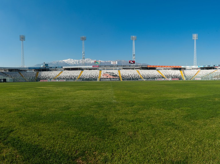 The Estadio Monumental, a Stadium in Santiago, Chile