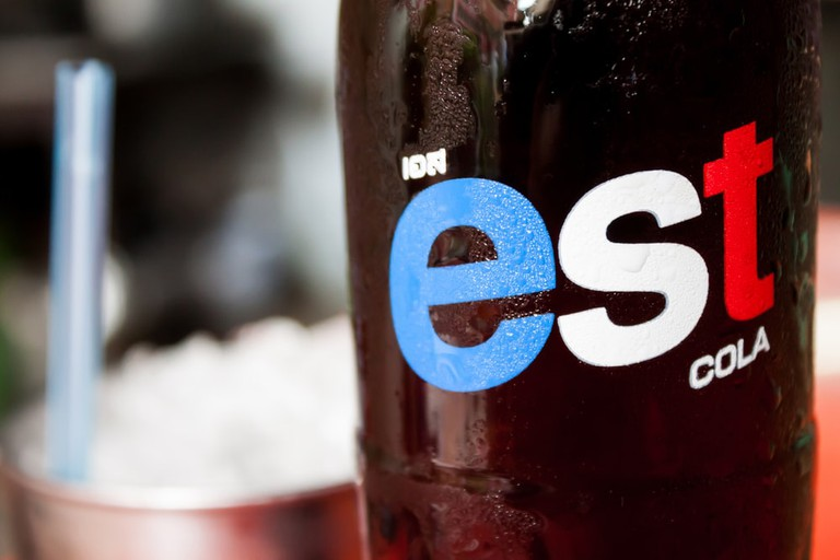 Est is a popular Thai brand of cola