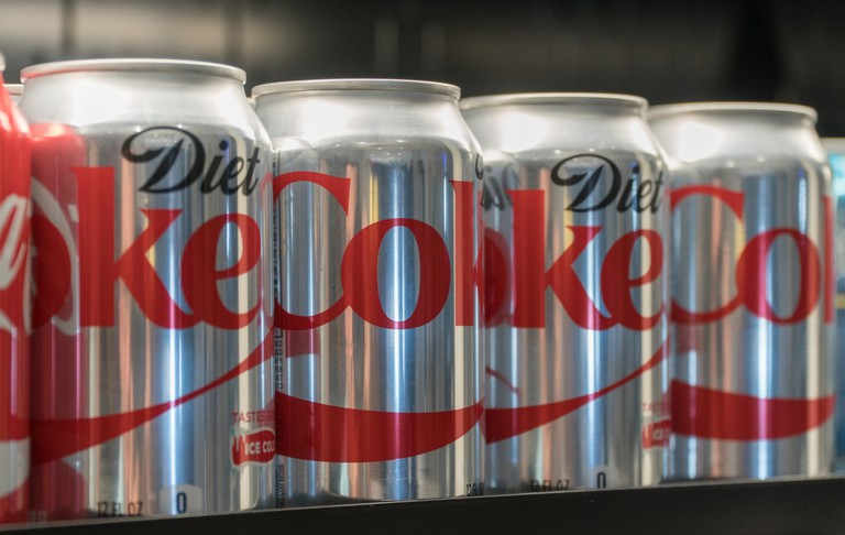 Trump reportedly drinks 12 Diet Cokes a day