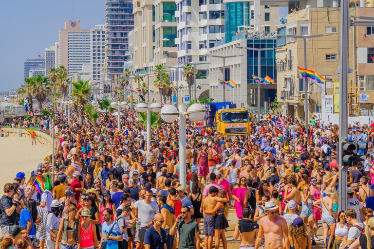 Annual Pride parade in Tel Aviv