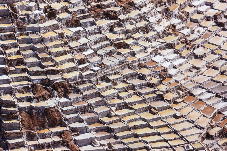 Urubamba, Peru salt ponds