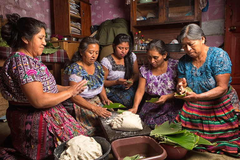 Cooking in Guatemala