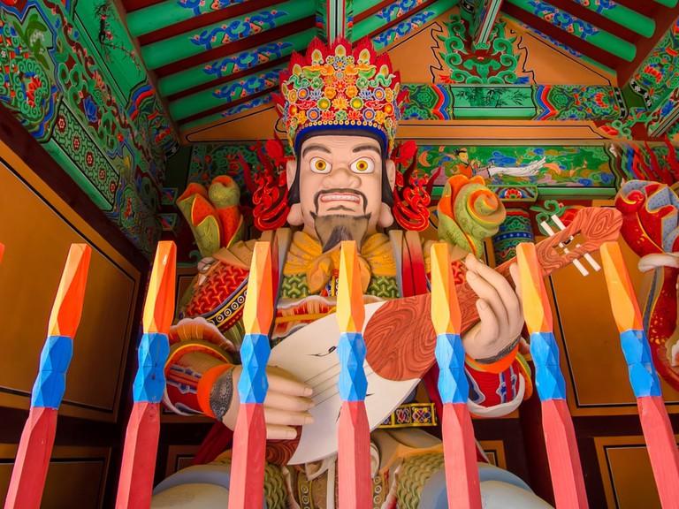 Beomeosa temple entrance, South Korea | © Panwasin seemala/Shutterstock