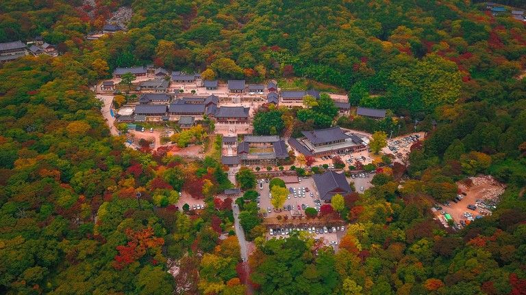 Aerial view of Beomeosa temple in Busan, South Korea | © Panwasin seemala/Shutterstock