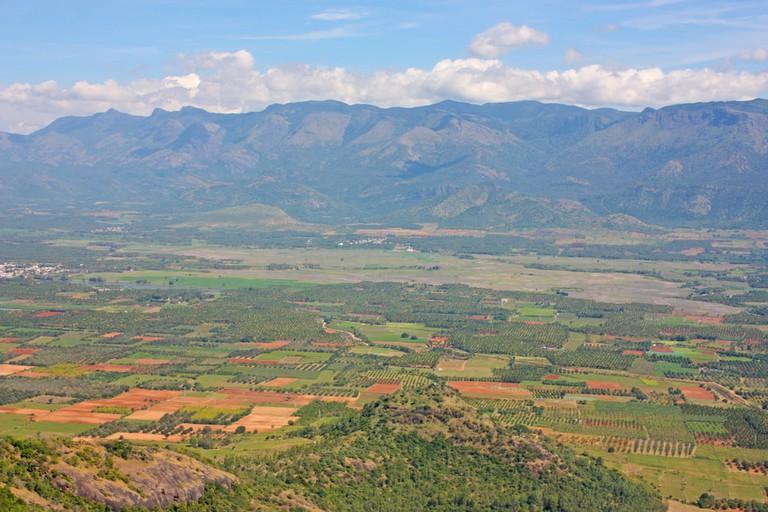 Beautiful mountains, Ghats, Kerala, India | © Alexandra Lande/Shutterstock