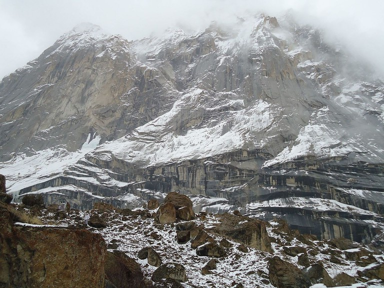 The region surrounding Siachen Glacier is one of the most inhospitable places on earth