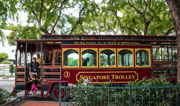 Singapore Trolley Tour