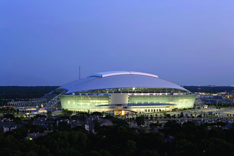 AT&T Stadium is one of the largest domed structures in the world