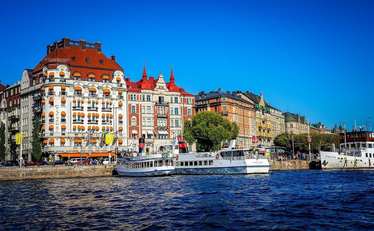 Stockholm is a city that is defined by the water around it