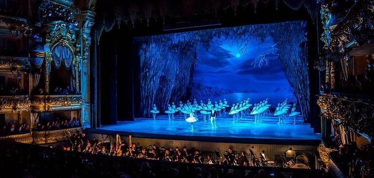 Swan Lake at Mariinsky Theatre