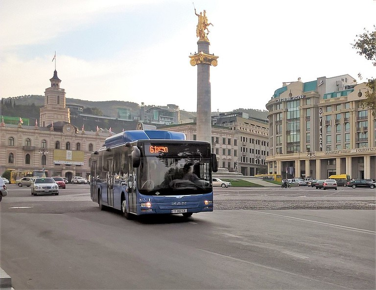 Tbilisi's new city bus