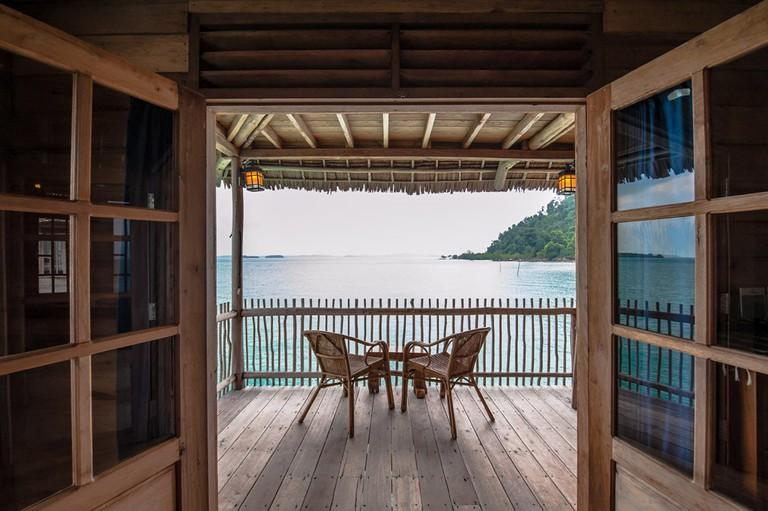 Telunas Beach Resort Balcony