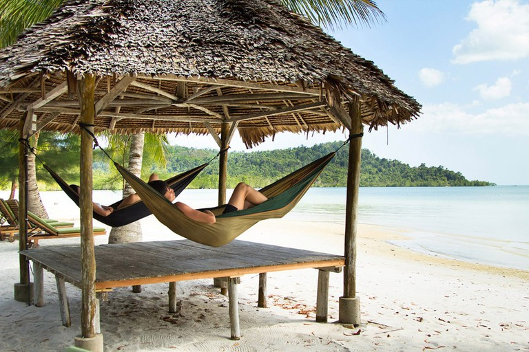 Telunas Beach Resort Beach Hut