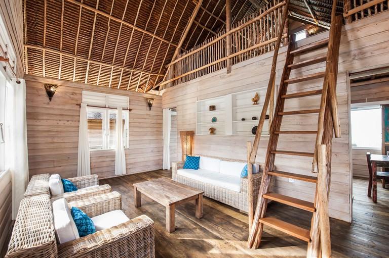 Telunas Private Island Villa Sitting Room