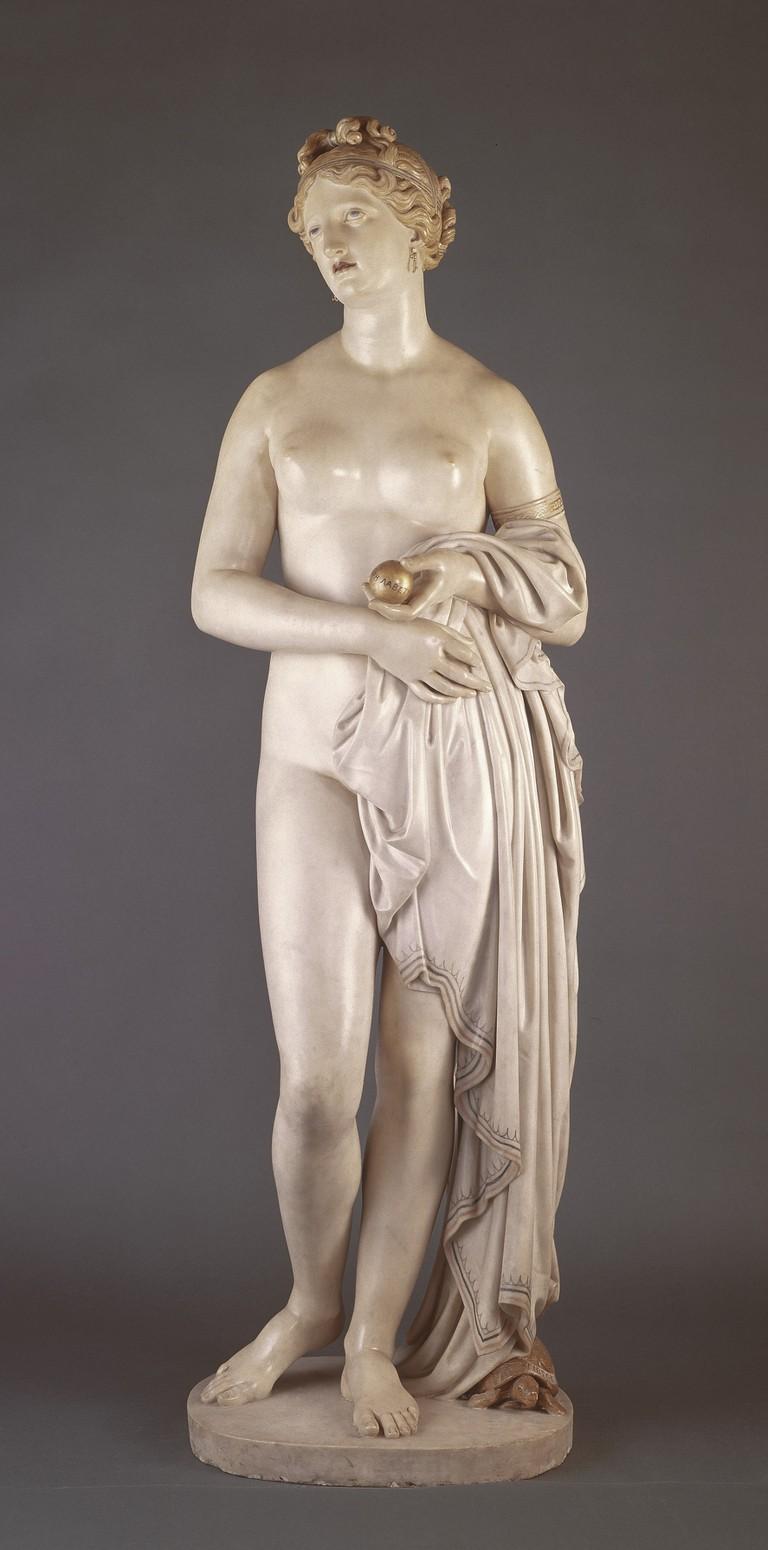 John Gibson, 'The Tinted Venus' ca. 1851–56