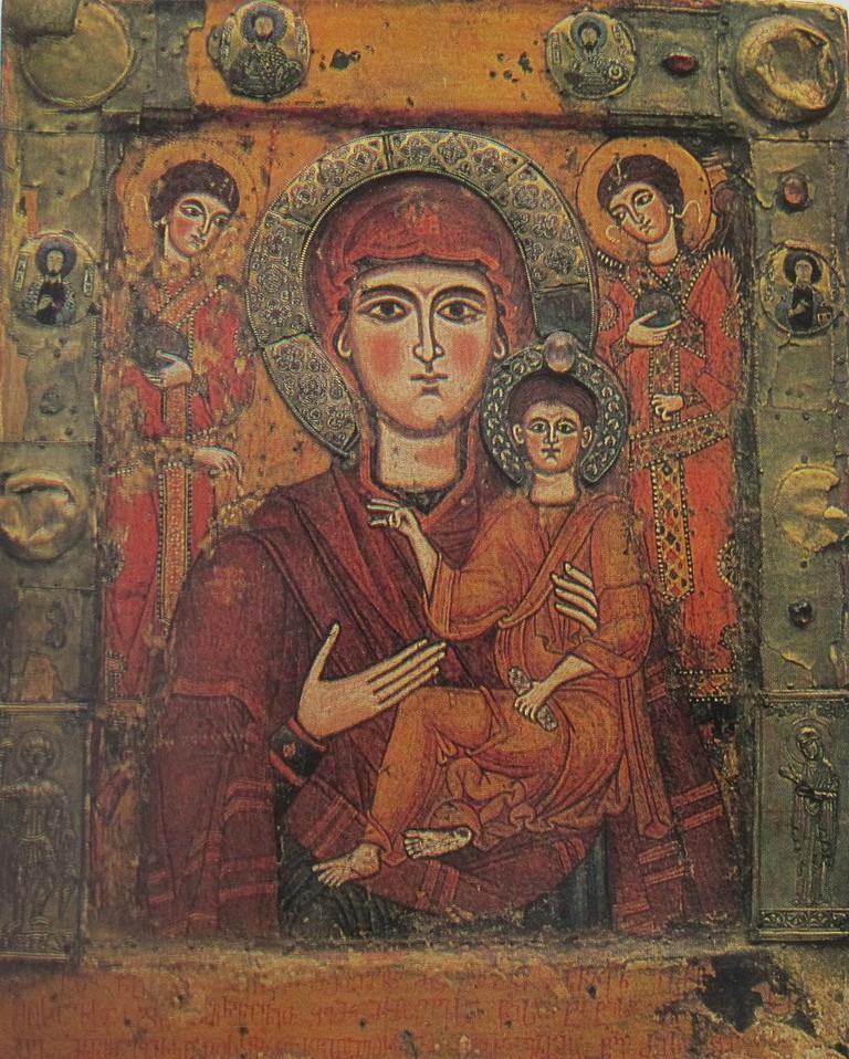 Tsilkani Icon of Virgin Mary