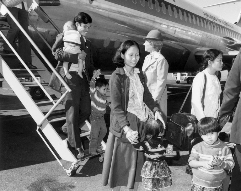 Vietnamese refugees arrive in Australia © manhhai / Flickr