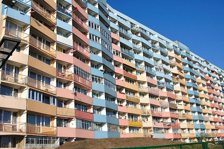 Falowiec, Przymorze, Gdańsk | © Słonecznik bulwiasty / WikiCOmmons