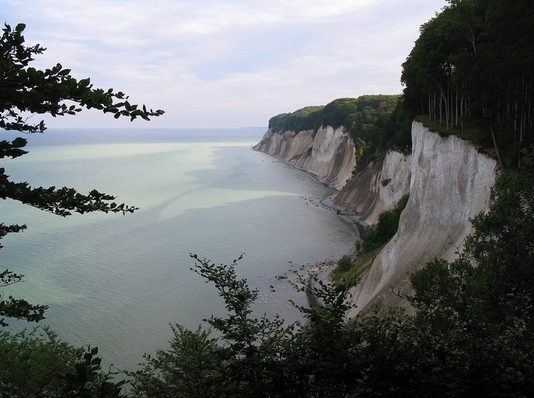 White cliffs of Jasmund National Park